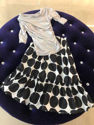 🚚 全新韓國造型立體上衣質感裙特賣每件只要500