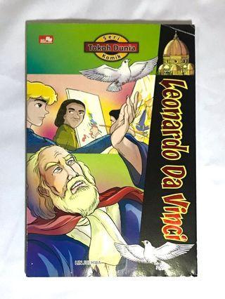 Komik Seri Tokoh Dunia Leornado Da Vinci #mauthr
