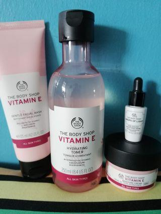 The Body Shop skin care