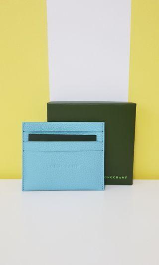 Longchamp Tiffany Blue Cardholder