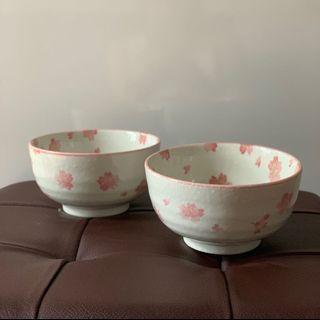 🚚 Bowls with Pink Sakura