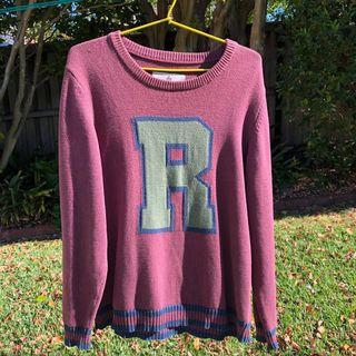 ✖️'R' sweater