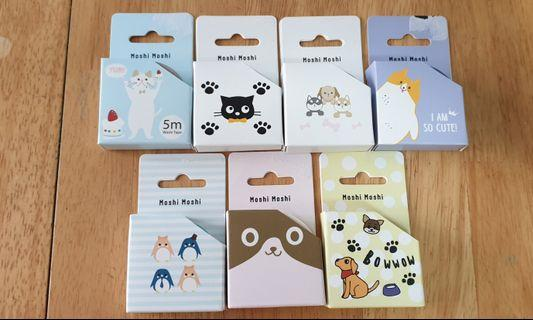 Washi Tapes: Animal Collection