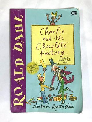 Novel Charlie and the Chocolate Factory Roald Dahl #mauthr