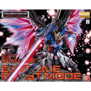 Gundam S Destiny - MG 1/100 ZGMF-X42S Destiny Gundam Extreme Blast Mode
