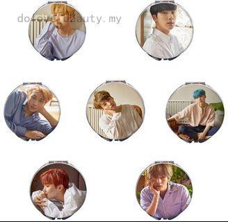 🚚 (PO) BTS Handheld Mirror/Makeup Mirror