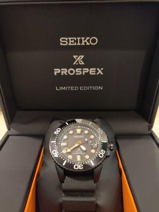 Seiko black series limited edition
