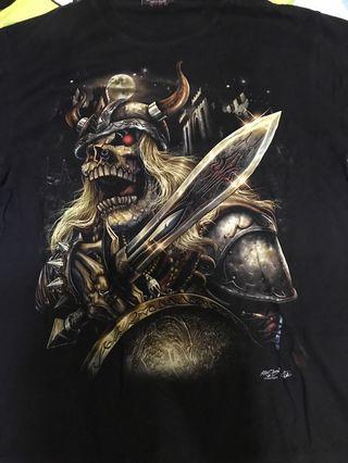 🚚 螢光骷髏潮T-shirt