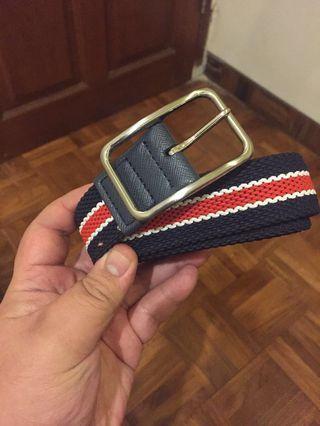 TURUN HARGA: Men's Belt model FonBelt (Blue-Red)