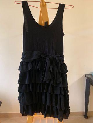 H&M 黑色背心裙