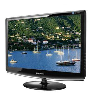 "(Certified Refurbished) Samsung SyncMaster 2033SW 20"" 5ms Widescreen LCD Monitor - Black"