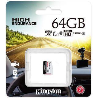 🚚 金士頓 超耐久 High Endurance Micro SD 64G JOLT DUO完美相容