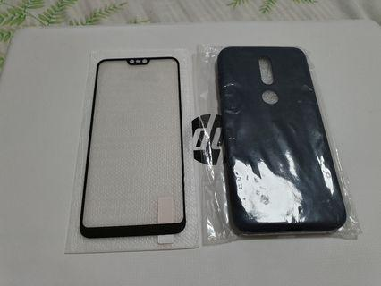 🚚 Nokia 6.1 plus Screen Protector and Case