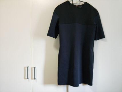 🚚 Zalora Navy Blue Dress XS