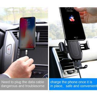 [INSTOCK] BASEUS 10W Wireless Charging Car Mount