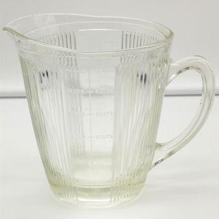 Vintage Glass Measuring Jar