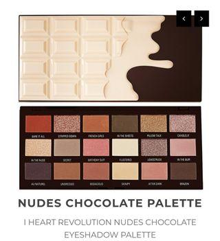 Nudes Chocolate Eyeshadow Palette by I Heart Revolution