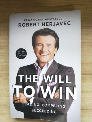 🚚 The Will To Win by Robert Herjavec
