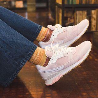 🚚 現貨 iShoes正品 New Balance 女鞋 粉 麂皮 網布 復古 慢跑 運動鞋 老爹鞋 ML99HHAG D