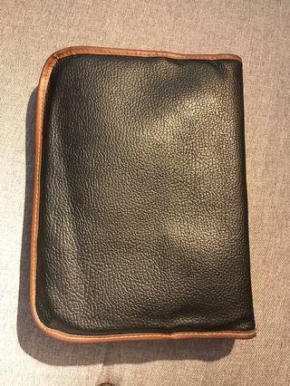 KJV leather cased rainbow study bible