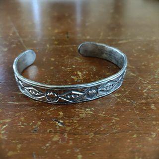 🚚 Tribal silver bracelet