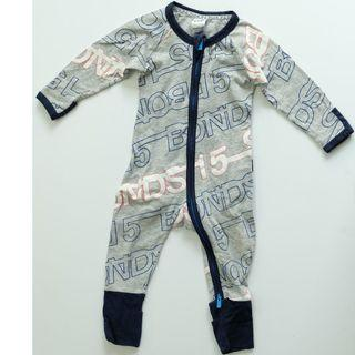 BONDS GRAY SLEEPSUITS
