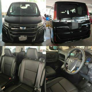 New Toyota Noah Hybrid for rent