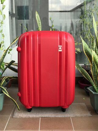 "New DELSEY 28"" Matt Red Luggage"