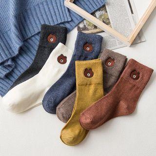 Bear High Socks (Line alike)