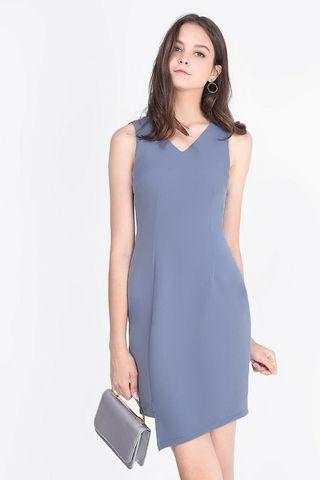 🚚 Fayth Lyle Asymmetric Work Dress