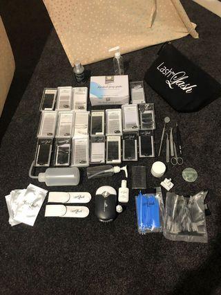 Eyelash extension kit bundle