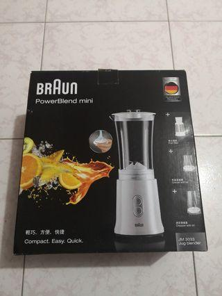 [全新/New]Braun Powerblend mini Blender 攪拌機