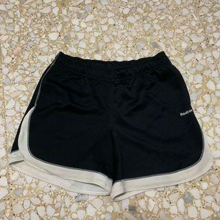 Reebok Black Runner Shorts