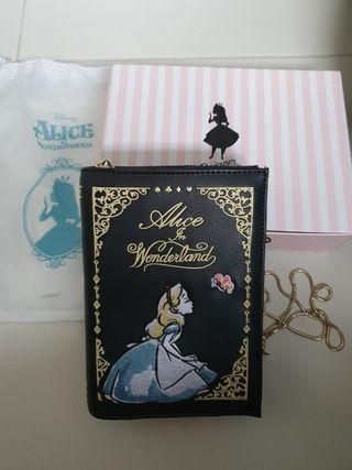 🚚 Authentic Gracegift Alice in Wonderland book bag