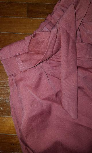 🚚 Ulzzang paperbag shorts