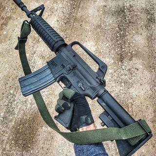 Black Two point rifle sling AR15 AUG 槍帶合m4 carbine #MTRtw