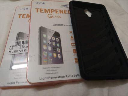 NEW Oneplus 3 Tempered Glass and Wallet Case
