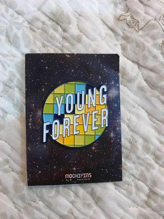 BTS YOUNG FOREVER SOFT ENAMEL PIN