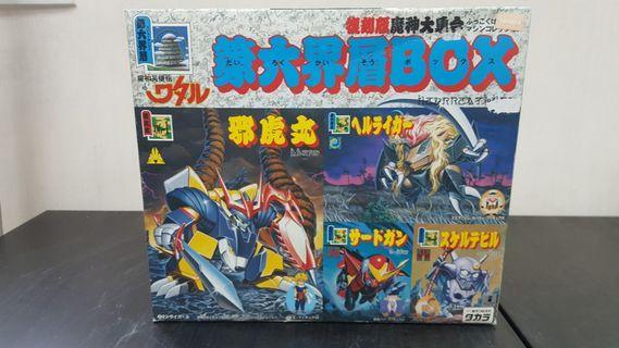Takara toy 魔神英雄傳 第六界層Box set