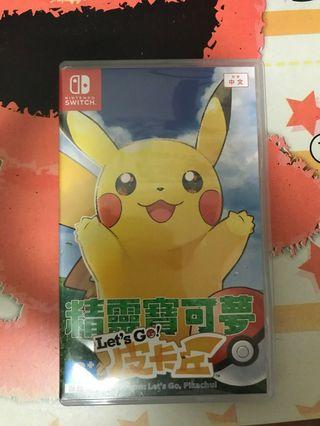 Pokemon switch game
