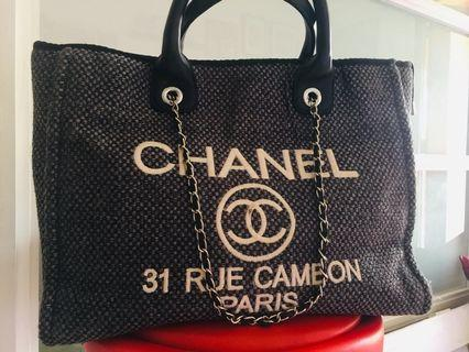 Authentic Channel Tote Bag