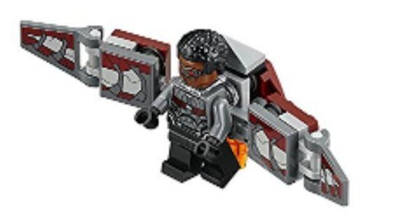 76104 Minifigure Falcon全新未砌