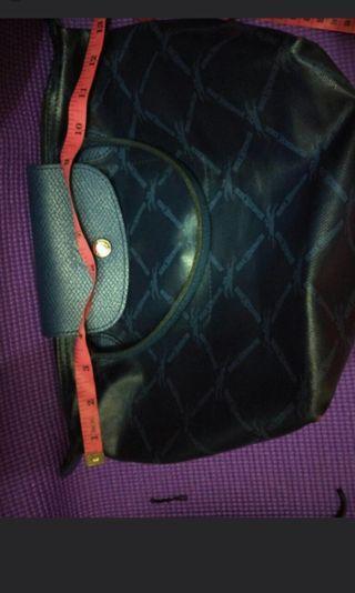 Authentic Longchamp Small short handle LM metal