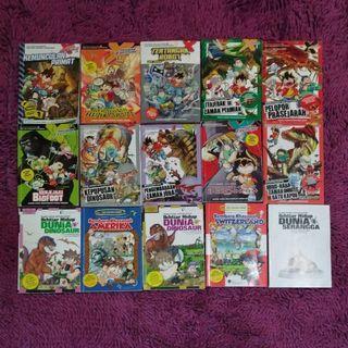 Collections of Ikhtiar Hidup & Xventure Series
