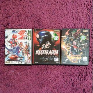 Collections of Masked Rider Movie