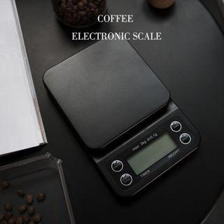 Electronic Coffee Weighing Timer Scale Max 3kg