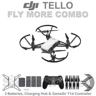 DJI TELLO Fly More COMBO
