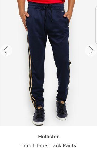 Authentic Hollister Taper Track Pants