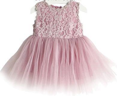 Premium Ribbon Dress for girl (80 -130cm)