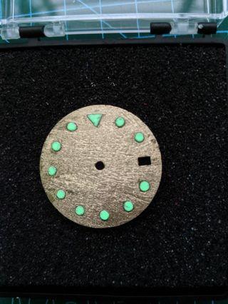 """🚚 (Parts) Seiko Mod: Gold """"Meteorite"""" Dial"""